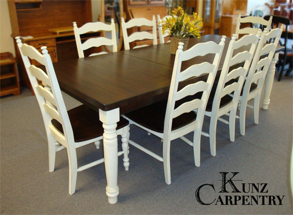 Surprising Table And Chair Sets Kunz Carpentry Beutiful Home Inspiration Ommitmahrainfo